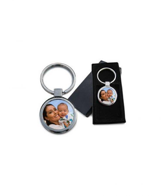 Round shape keychain
