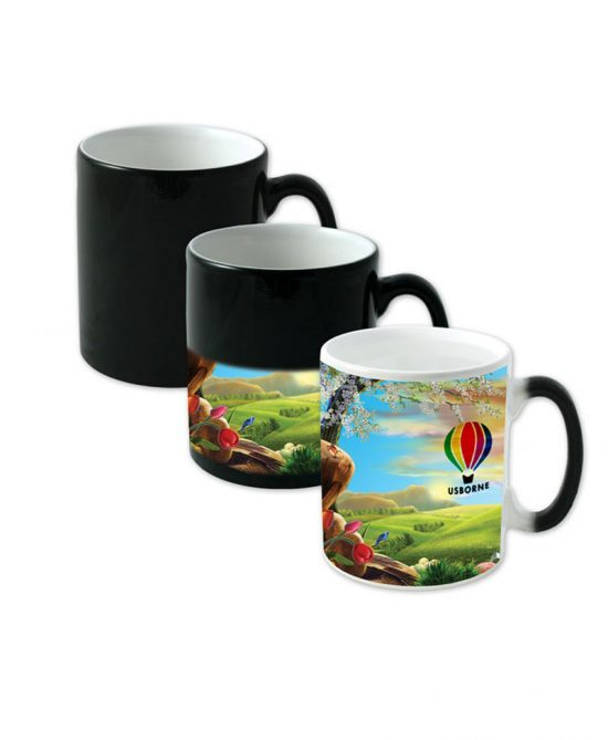 Magic mug black color