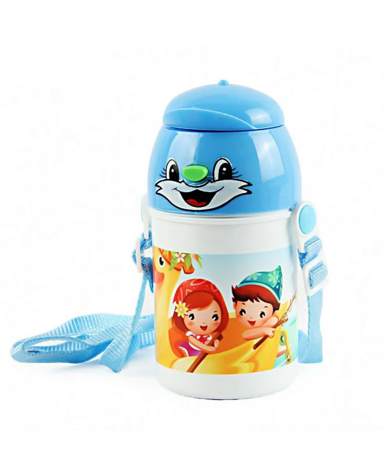 Water Bottle For kids/School Blue Color: